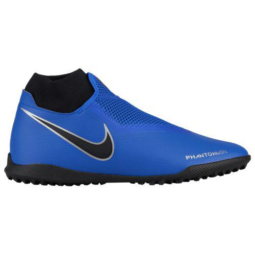 (取寄)ナイキ メンズ ファントム ビジョン アカデミー DF tr Nike Men's Phantom Vision Academy DF TF Racer Blue Racer Blue Black Metallic Silver