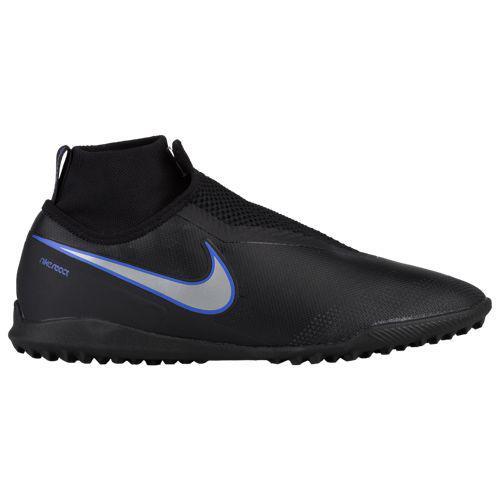 best website caa27 0c247 (order) Nike men phantom vision X pro DF tr Nike Mens Phantom VisionX Pro  DF TF Black Metallic Silver Racer Blue