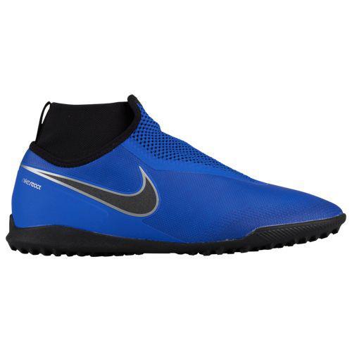 (取寄)ナイキ メンズ ファントム ビジョンX プロ DF tr Nike Men's Phantom VisionX Pro DF TF Racer Blue Black Metallic Silver Volt