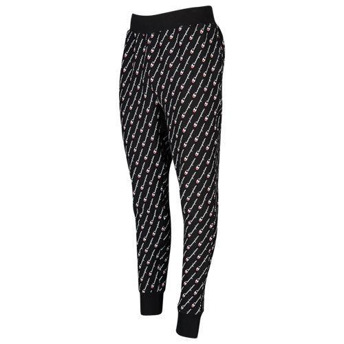 (取寄)チャンピオン メンズ リバース ウィーブ AOP ジョガー パンツ Champion Men's Reverse Weave AOP Jogger Pants Black