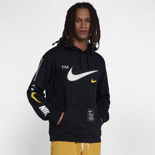 (取寄)ナイキ メンズ マイクロブランド プルオーバー フーディ Nike Men's Microbrand Pullover Hoodie Black