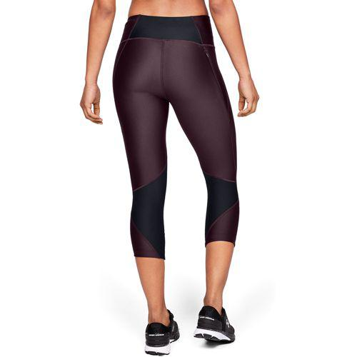 Under Armour Womens Fly-By Pants Black//Carbon Heather//Reflective