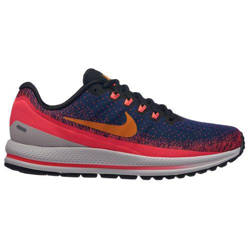 (取寄)ナイキ メンズ エア ズーム ボメロ 13 Nike Men's Air Zoom Vomero 13 Blue Void Orange Peel Flash Crimson Black