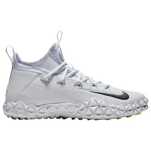 (取寄)ナイキ メンズ アルファ ハラチ 6 エリート ターフ ラクロス Nike Men's Alpha Huarache 6 Elite Turf LAX White White Volt Black