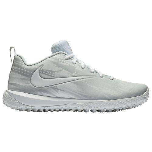 (取寄)ナイキ メンズ ヴェイパー バーシティ ロー ターフ ラクロス Nike Men's Vapor Varsity Low Turf LAX White White Wolf Grey Wolf Grey