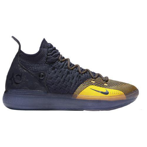 (取寄)ナイキ メンズ KD 11 ケビン デュラント Nike Men's KD 11 Kevin Durant College Navy University Gold