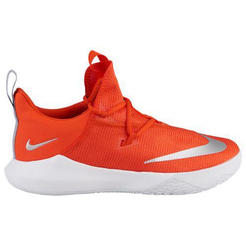 (取寄)ナイキ メンズ ズーム シフト 2 Nike Men's Zoom Shift 2 Team Orange Metallic Silver White