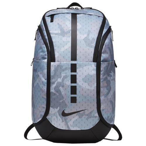 (取寄)ナイキ メンズ フープ エリート マックス エア AOP バックパック Nike Hoop Elite Max Air AOP Backpack Wolf Grey Black