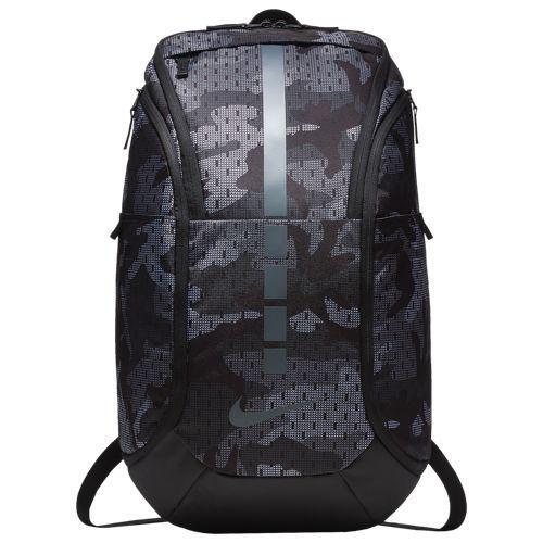 (取寄)ナイキ メンズ フープ エリート マックス エア AOP バックパック Nike Hoop Elite Max Air AOP Backpack Anthracite Black Cool Grey