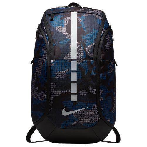 (取寄)ナイキ メンズ フープ エリート マックス エア AOP バックパック Nike Hoop Elite Max Air AOP Backpack Gym Blue Black Pure Platinum
