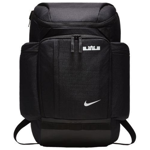 (取寄)ナイキ メンズ レブロン バックパック レブロン ジェームズ Nike LeBron Backpack Lebron James Black White