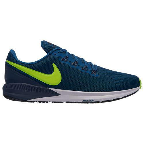 (取寄)ナイキ メンズ エア ズーム ストラクチャ 22 Nike Men's Air Zoom Structure 22 Blue Force Bolt Thunder Blue Black White