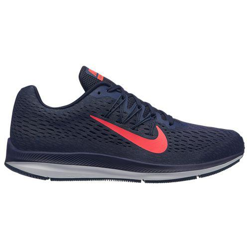 (取寄)ナイキ メンズ ズーム ウィンフロー 5 Nike Men's Zoom Winflo 5 Blackened Blue Flash Crimson Thunder Blue