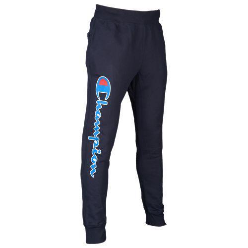 (取寄)チャンピオン メンズ リバース ウィーブ グラフィック ジョガー Champion Men's Reverse Weave Graphic Jogger Navy White Blue