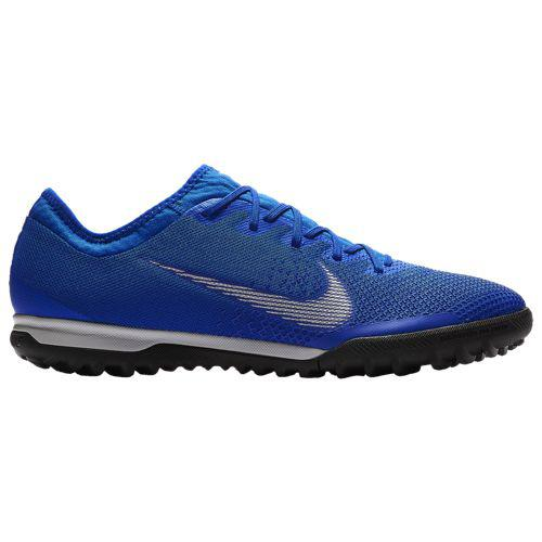 (取寄)ナイキ メンズ マーキュリアル ヴェイパー X 12 プロ tr Nike Men's Mercurial VaporX 12 Pro TF Racer Blue Metallic Silver Black