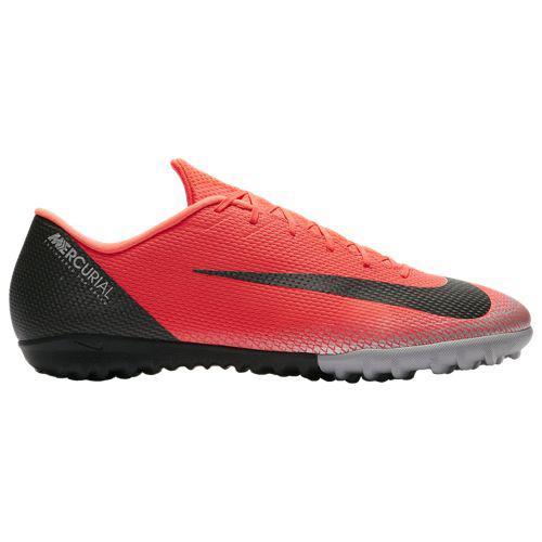 (取寄)ナイキ メンズ マーキュリアル ヴェイパー X 12 アカデミー tr Nike Men's Mercurial VaporX 12 Academy TF Bright Crimson Black Chrome