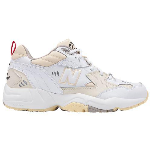 855538dc469fb New Balance men sneakers 608 New Balance Men's 608 White Grey shoes shoes  ...