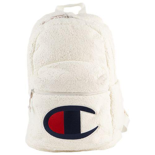(取寄)チャンピオン メンズ ミニ スーパーサイズ シェルパ バックパック Champion Mini Supercize Sherpa Backpack Light Beige