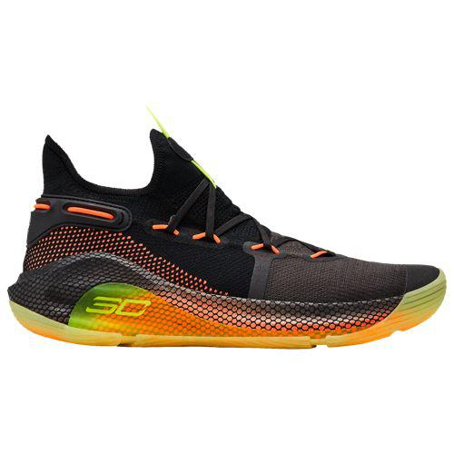 (取寄)アンダーアーマー メンズ カリー 6 ステファン カリー Underarmour Men's Curry 6 Stephen Curry Black Jet Grey Aruba Red Dark Orange Orange Glitch