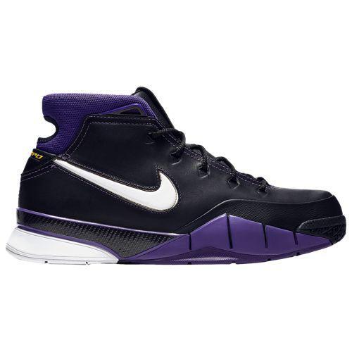 (取寄)ナイキ メンズ コービー 1 プロトロ コービー ブライアント Nike Men's Kobe 1 Protro Kobe Bryant Black White Varsity Purple