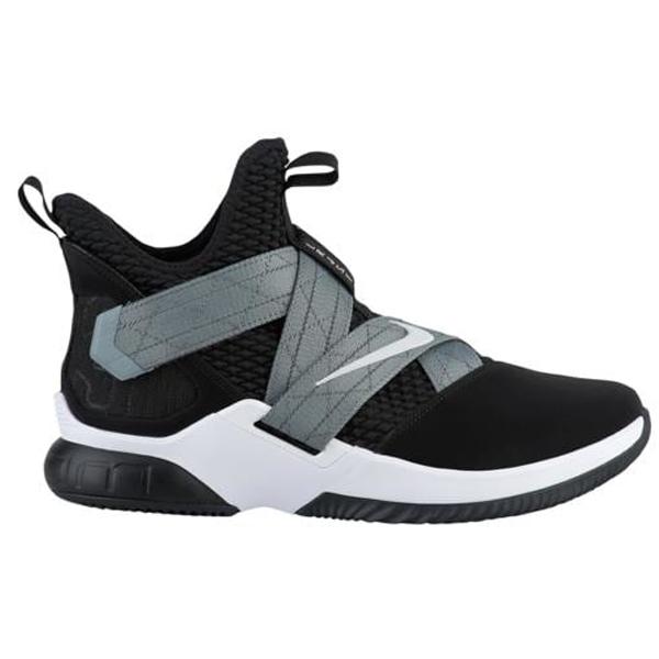 (取寄)ナイキ メンズ ソルジャー 12 SFG レブロン ジェームズ Nike Men's Soldier XII SFG Lebron James Black White