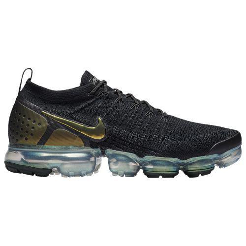 (取寄)ナイキ メンズ エア ヴェイパーマックス フライニット 2 Nike Men's Air Vapormax Flyknit 2 Black Multi Color Metallic Silver