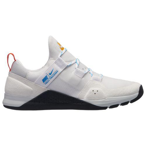 (取寄)ナイキ メンズ テック トレーナー Nike Men's Tech Trainer White Blue Hero Pure Platinum Team Orange