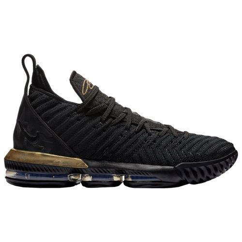 (取寄)ナイキ メンズ レブロン 16 レブロン ジェームズ Nike Men's LeBron 16 Lebron James Black Metallic Gold