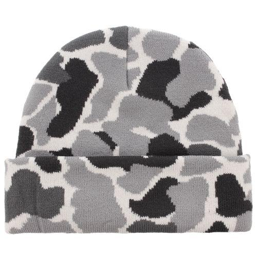 72011f28741 (order) アディダスメンズオリジナルストレフォイルプラスビーニー Men s adidas Originals Trefoil Plus  Beanie Forest Camo White