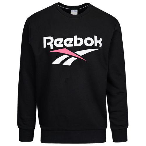 (取寄)リーボック メンズ ロゴ クルー Reebok Men's Logo Crew Black