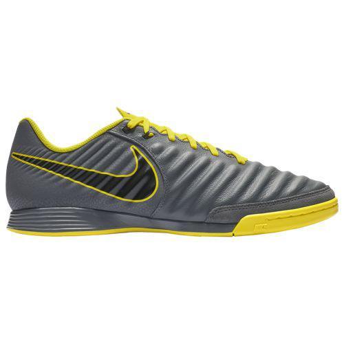 (取寄)ナイキ メンズ ティエンポ レジェンド エックス 7 アカデミー ic Nike Men's Tiempo LegendX 7 Academy IC Dark Grey Black Optic Yellow