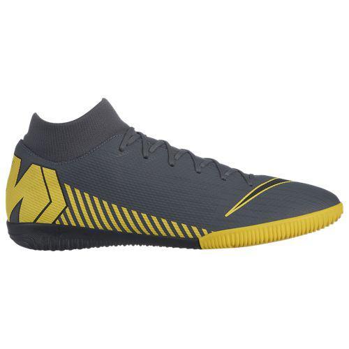 (取寄)ナイキ メンズ マーキュリアル スーパーフライ X 6 アカデミー tr Nike Men's Mercurial SuperflyX 6 Academy TF Dark Grey Black Optic Yellow