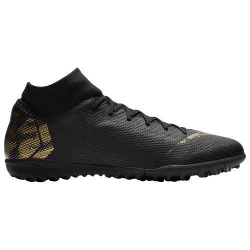 (取寄)ナイキ メンズ マーキュリアル スーパーフライ X 6 アカデミー tr Nike Men's Mercurial SuperflyX 6 Academy TF Black Metallic Vivid Gold