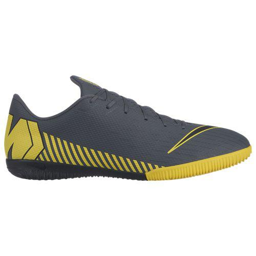 (取寄)ナイキ メンズ マーキュリアル ヴェイパー X 12 アカデミー ic Nike Men's Mercurial VaporX 12 Academy IC Dark Grey Black Optic Yellow