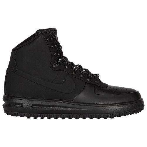 (取寄)ナイキ メンズ ルナ フォース 1 ダックブーツ '18 Nike Men's Lunar Force 1 Duckboot '18 Triple Black