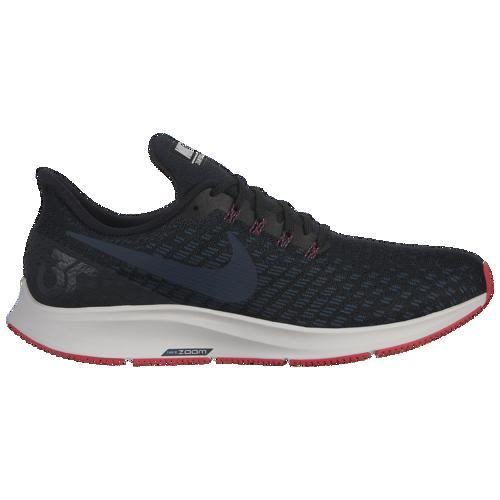 (取寄)ナイキ メンズ エア ズーム ペガサス 35 Nike Men's Air Zoom Pegasus 35 Black Armory Navy Platinum Tint Red Orbit