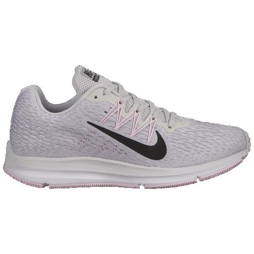 (取寄)ナイキ レディース ズーム ウィンフロー 5 Nike Women's Zoom Winflo 5 Vast Grey Black Atmosphere Grey Pink Foam