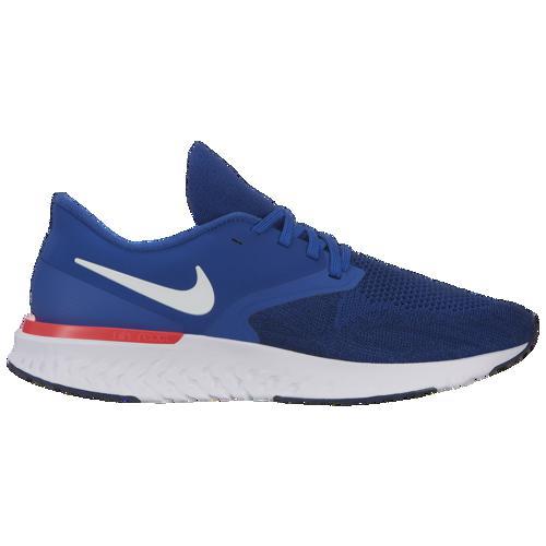 (取寄)ナイキ メンズ オデッセイ リアクト 2 フライニット Nike Men's Odyssey React 2 Flyknit Indigo Force White Blue Void Red Orbit