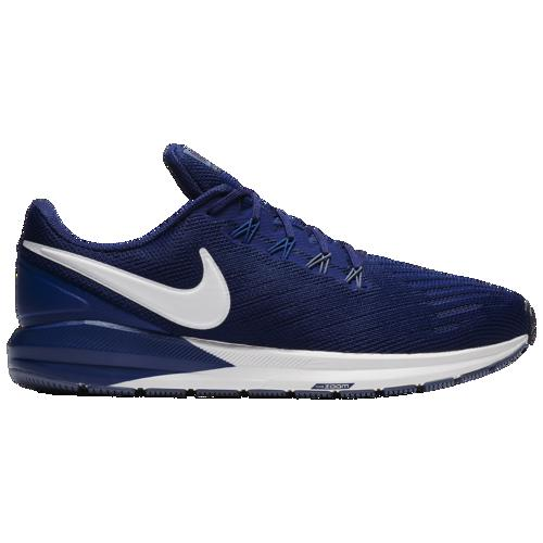(取寄)ナイキ メンズ エア ズーム ストラクチャ 22 Nike Men's Air Zoom Structure 22 Blue Void Vast Grey Gym Blue Diffused Blue