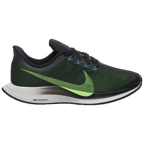 (取寄)ナイキ メンズ エア ズーム ペガサス 35 ターボ Nike Men's Air Zoom Pegasus 35 Turbo Black Lime Blast Vast Grey Laser Fuchsia