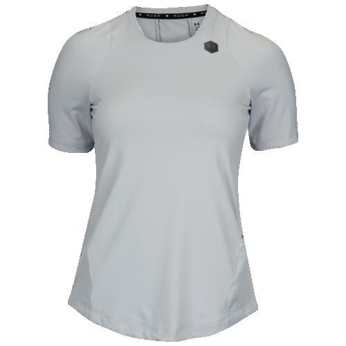 (取寄)アンダーアーマー レディース ラッシュ Tシャツ Underarmour Men's Rush T-Shirt Mod Grey