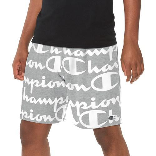 (取寄)チャンピオン メンズ リバース ウィーブ カット オフ ショート AOP Champion Men's Reverse Weave Cut Off Short AOP Oxford Gray
