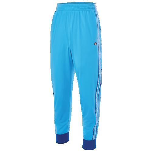 (取寄)チャンピオン メンズ テープド トラック パンツ Champion Men's Taped Track Pants Active Blue Surf The Web