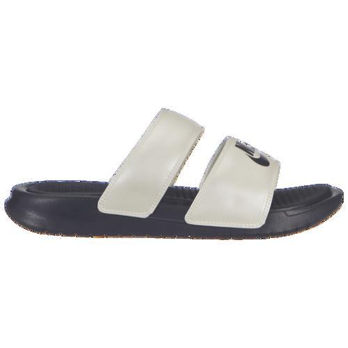 (取寄)ナイキ レディース ベナッシ デュオ ウルトラ スライド Nike Men's Benassi Duo Ultra Slide Oil Grey Oil Grey Pale Ivory