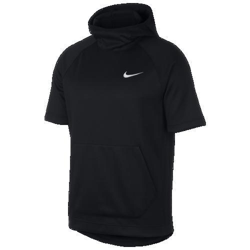 (取寄)ナイキ メンズ パーカー スポットライト ショートスリーブ フーディ Nike Men's Spotlight S/S Hoodie Black White