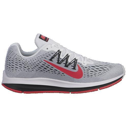 (取寄)ナイキ メンズ ズーム ウィンフロー 5 Nike Men's Zoom Winflo 5 White Red Orbit Pure Platinum Cool Grey Black