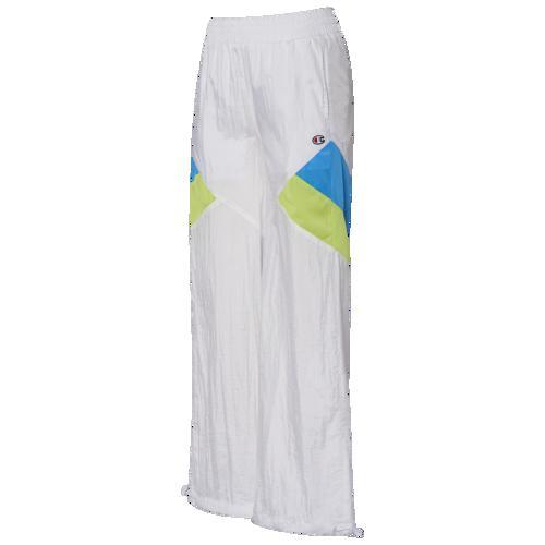 【クーポンで最大2000円OFF】(取寄)チャンピオン レディース ナイロン パンツ Champion Women's Nylon Pants White Blue Green