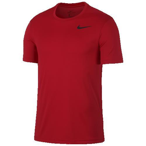 (取寄)ナイキ メンズ Tシャツ 半袖 スーパーセット ベンテッド フィッティド トップ Nike Men's Superset Vented Fitted Top University Red Black