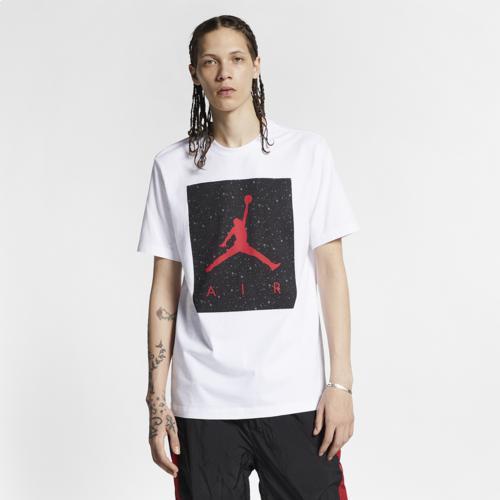 (取寄)ジョーダン メンズ プールサイド Tシャツ Jordan Men's Poolside T-Shirt White Iron Grey Gym Red