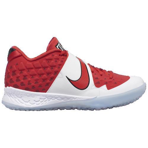 (取寄)ナイキ メンズ フォース ズーム トラウト 6 ターフ Nike Men's Force Zoom Trout 6 Turf University Red Gym Red Black